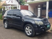 Black Suzuki Grand Vitara 2008 for sale in Mandaue