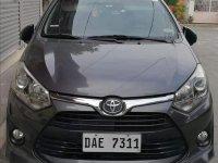 Grey Toyota Wigo 2017 for sale in Kawit