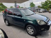 Green Honda CR-V 2002 for sale in Parañaque