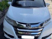 White Honda Odyssey 2015 for sale in Mandaue