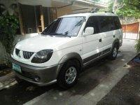 Selling White Mitsubishi Adventure 2008 in Mandaue