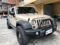 Selling Beige Jeep Wrangler 2017 in Pasig