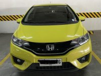Yellow Honda Jazz 1.5 S i-VTEC 2015 for sale in Taguig