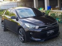Selling Black Kia Rio 2018 in Manila