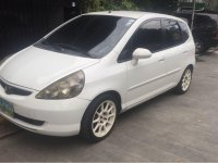 White Honda Jazz 2005 for sale in Manila