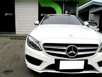 White Mercedes-Benz C200 2014 for sale in Paranaque