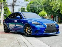 Blue Lexus IS350 2016 for sale in Batangas