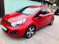 Selling Red Kia Rio 2012 in Tarlac