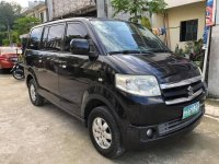 Selling Black Suzuki APV 2009 in Quezon