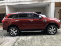 Sell Red 2017 Ford Everest SUV / MPV at 24200 in Manila
