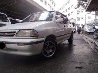 White Kia Pride 1997 for sale in Quezon