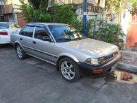 Brightsilver Toyota Corolla 1990 for sale in Makati