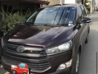 Selling Red Toyota Innova 2018 in Pagsanjan