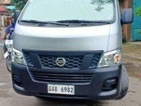Silver Nissan Urvan Escapade 2017 for sale in Cebu