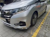 Brightsilver Honda Odyssey 2018 for sale in Quezon