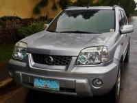 Silver Nissan X-Trail 2004 for sale in Lipa
