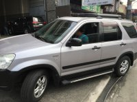 Selling Silver Honda CR-V 2003 in Quezon