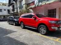 Red Ford Everest 2015 for sale in Quezon