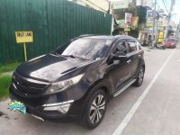 Black Kia Sportage 2012 for sale in Angeles