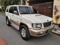White Isuzu Trooper 2003 for sale in Quezon