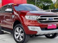 Red Ford Everest 2018 for sale in Cavite