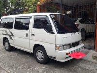 Selling Pearl White Nissan Urvan 2011 in Laguna