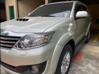 Silver Toyota Fortuner 2013 for sale in Urdaneta