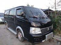 Black Nissan Urvan 2003 Van for sale in Santa Teresita