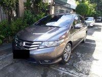 Sell Grey 2013 Honda City Sedan at 60000 km in Manila