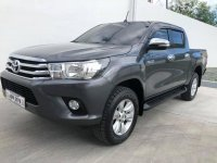 Sell Grey 2016 Toyota Hilux in Manila