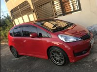 Selling Red Honda Jazz 2013 Hatchback at 80000 km in Manila