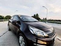 Selling Black Kia Rio 2015 in Imus