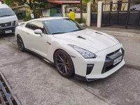 Selling White Nissan GT-R 2017 in Taytay