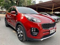 Red Kia Sportage 2017 for sale in Pasig