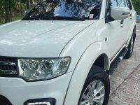 White Mitsubishi Montero 2015 for sale in Quezon