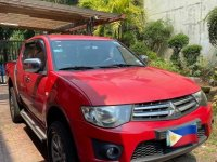 Selling Red Mitsubishi Strada 2013 in Quezon