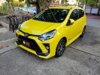 Yellow Toyota Wigo 2021 for sale in Quezon