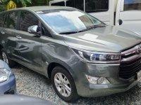 Silver Toyota Innova 2017 for sale in Quezon