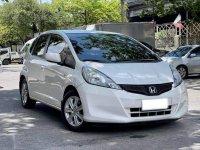 White Honda Jazz 2013