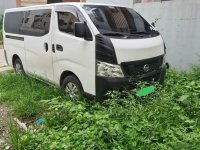 White Nissan Urvan 2016