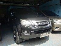 Silver Isuzu D-Max 2014 for sale in Quezon