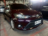 Red Toyota Vios 2017 for sale in Quezon