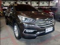 Selling Brown Hyundai Santa Fe 2016 in Quezon