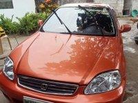 Orange Honda Civic 2000