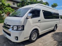 Selling White Toyota Hiace 2016 in Malabon