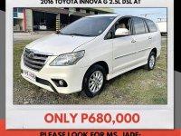 Sell White 2016 Toyota Innova