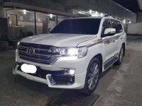 Pearl White Toyota Land Cruiser 2020