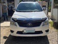 Toyota Innova 2013 Manual