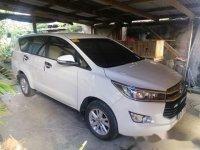 White Toyota Innova 2017 for sale in Lipa