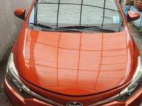 Selling Orange Toyota Vios 2016 in Manila